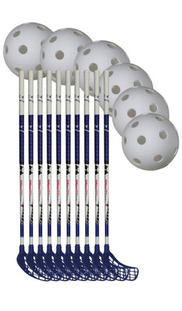 Necy Gravity Team Set 10 Floorball set (15+ Jahre)