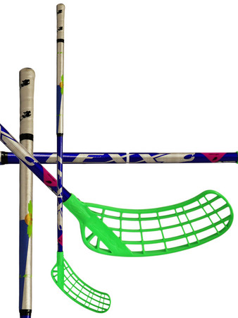 LEXX Arctic A2 2,6 Oval Blue/Silver Floorball sticks