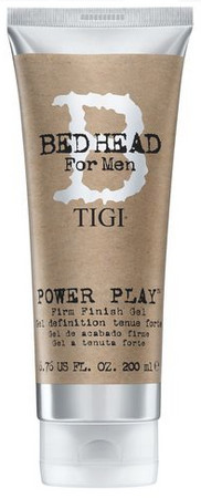TIGI Bed Head for Men Power Play Firm Finish Gel stylingový gél