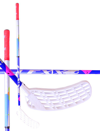 LEXX Timber C4 2,9 Navy/Silver/Red Floorball schläger