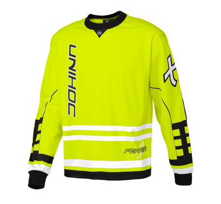 Unihoc Feather neon yellow Goalkeeper jersey
