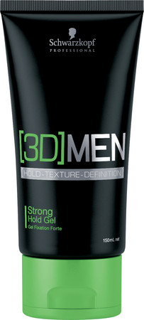 Schwarzkopf Professional [3D] MEN Strong Hold Gel Haargel