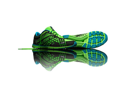 Salming Race Shoe Men Green Running shoes