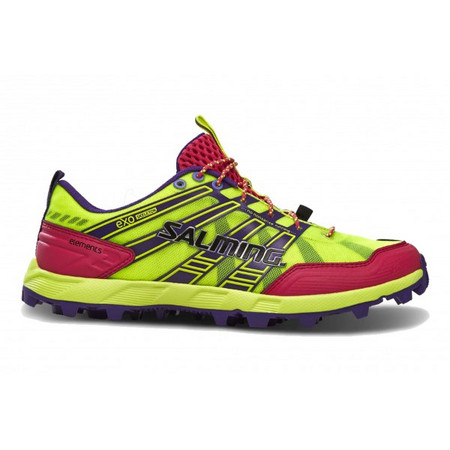 Salming Elements Shoe Women Safety Yellow/Pink Běžecká obuv