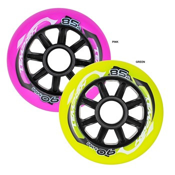 Tempish Radical Color 84x24 85A set Wheels