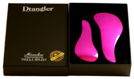 Dtangler Miraculous Set gift package of two brushes