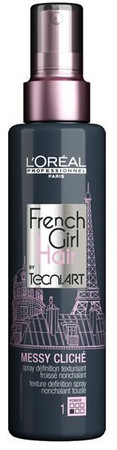 L'Oréal Professionnel Tecni.Art French Girl Hair Messy Cliché Stylingspray für feines Haar