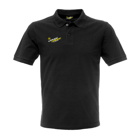 Unihoc Piquet SoHo men black Polo-Hemd