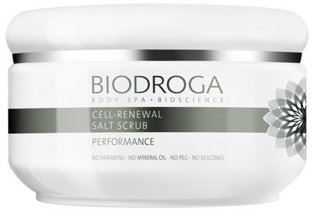 Biodroga Performance Cell-Renewal Salt Scrub Revitalisierendes Salzpeeling