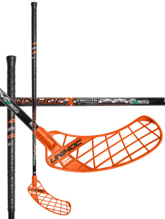 Unihoc UNITY TeXtreme Feather Light Curve 1.0º 29 Florbalová hokejka