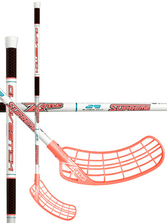 Zone floorball SUPREME Glovestick Superlight 29 white/coral Floorball Schläger