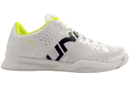 Unihoc U4 STL LowCut Lady white/yellow Indoor shoes
