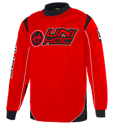 Unihoc OPTIMA neon red/black Torwart Trikot