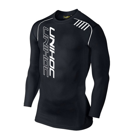 Unihoc longsleeve black Compression shirt