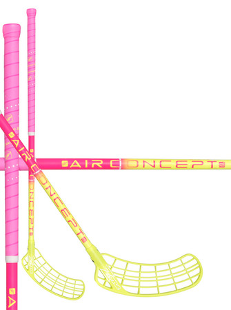Zone floorball SUPREME AIR Curve 1.5° 31 pink/neon yellow Floorball Schläger