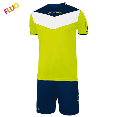 Givova Kit Campo Fluo Sports set