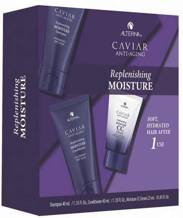 Alterna Caviar Replenishing Moisture Travel Kit