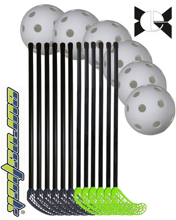 Eurostick Medi Kid Teamset 65/76cm Floorball set (6 - 8 Jahre)