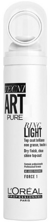 L'Oréal Professionnel Tecni.Art Pure Ring Light Spray sprej pro ultra-vysoký lesk