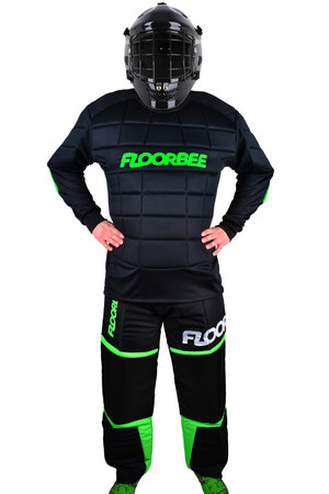 FLOORBEE Goalie Armor set with HELMET Goalkeeper set with helmet