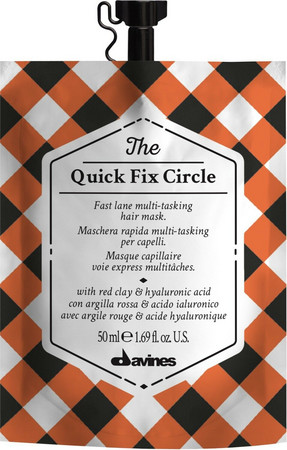 Davines The Quick Fix Circle Express fix Haarmaske