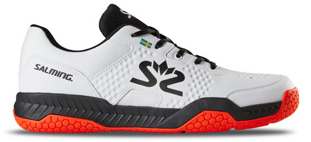 Salming Hawk Court Men White/Black Sálová obuv