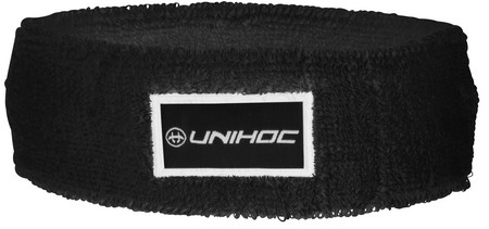 Unihoc Headband TERRY mid black čelenka