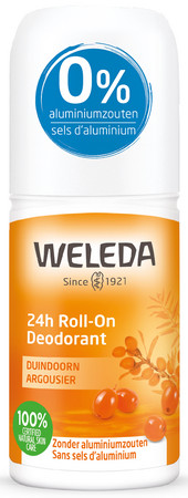 Weleda 24h Roll-On Deodorant Duindoorn Sanddorn Deo Roll-on