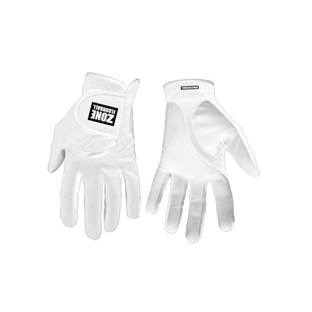 Zone floorball Gloves MONSTER all white Goalie Handschuhe
