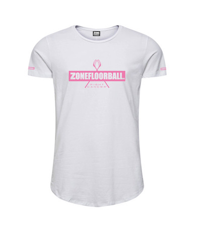 Zone floorball T-shirt FIGHT CANCER T-shirt