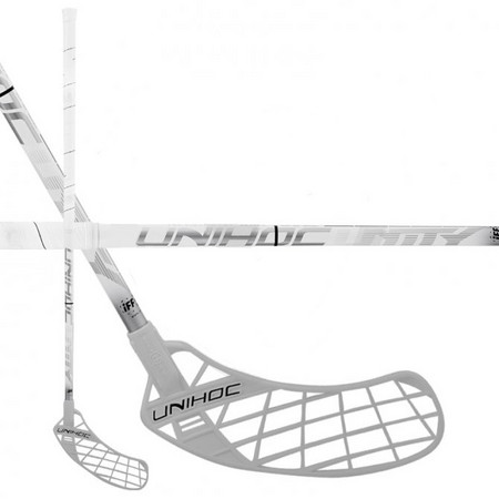 Unihoc UNITY Top Light II 24 white/silver Floorball stick