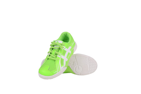 Unihoc Shoe U3 Junior Unisex neon green Indoor shoes