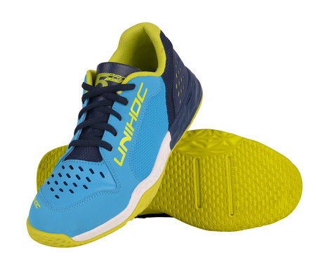 Unihoc Shoe U5 PRO JR Unisex blue Indoor shoes