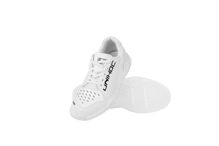 Unihoc Shoe U5 PRO JR Unisex white Indoor shoes