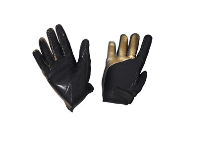 Fat Pipe GK-GLOVES WITH SILICONE PALM BLACK/GOLD Brankárske rukavice