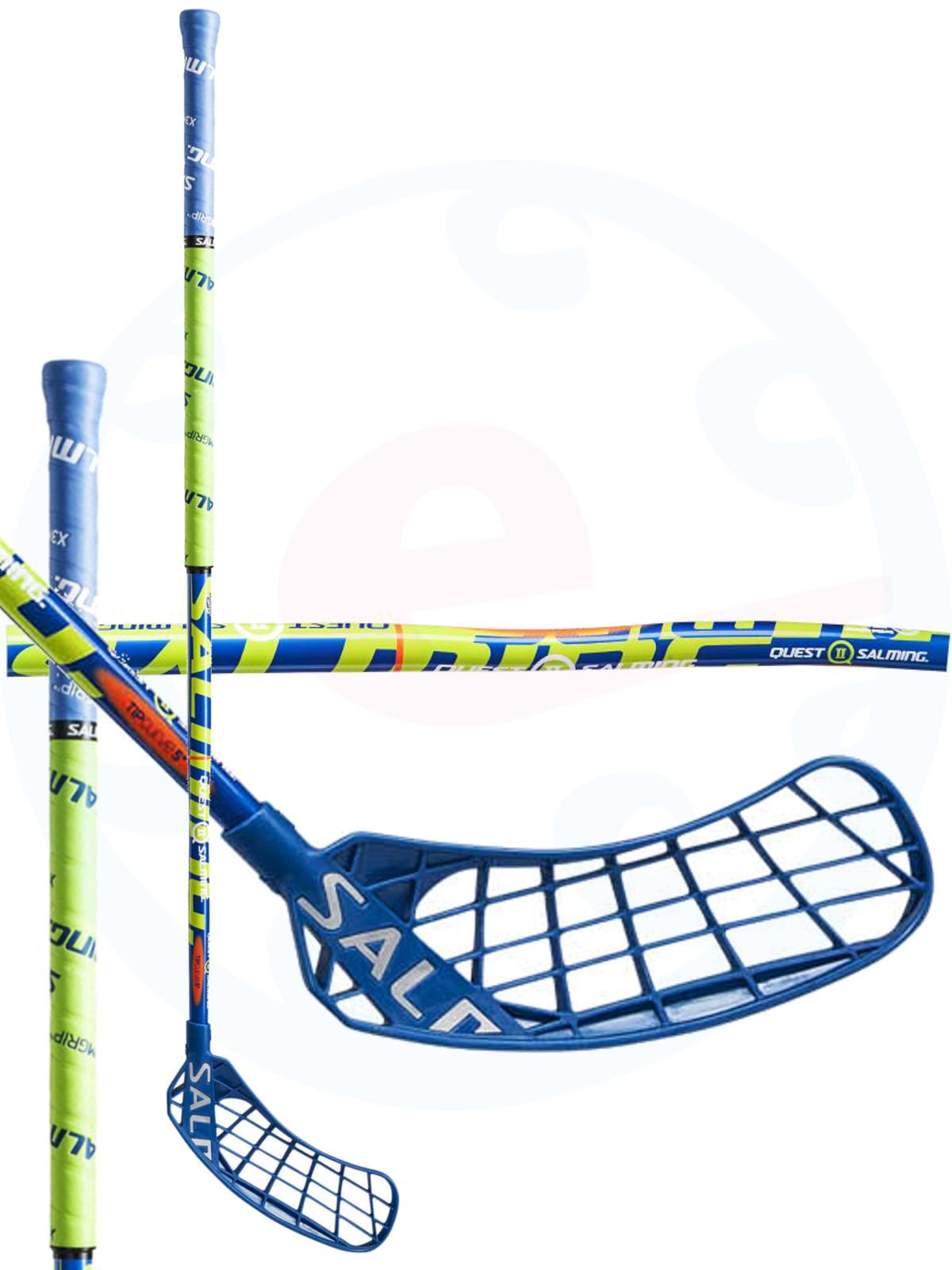 3b573d11f5a Florbalová hokejka Salming Quest2 KickZone TipCurve 5° `16