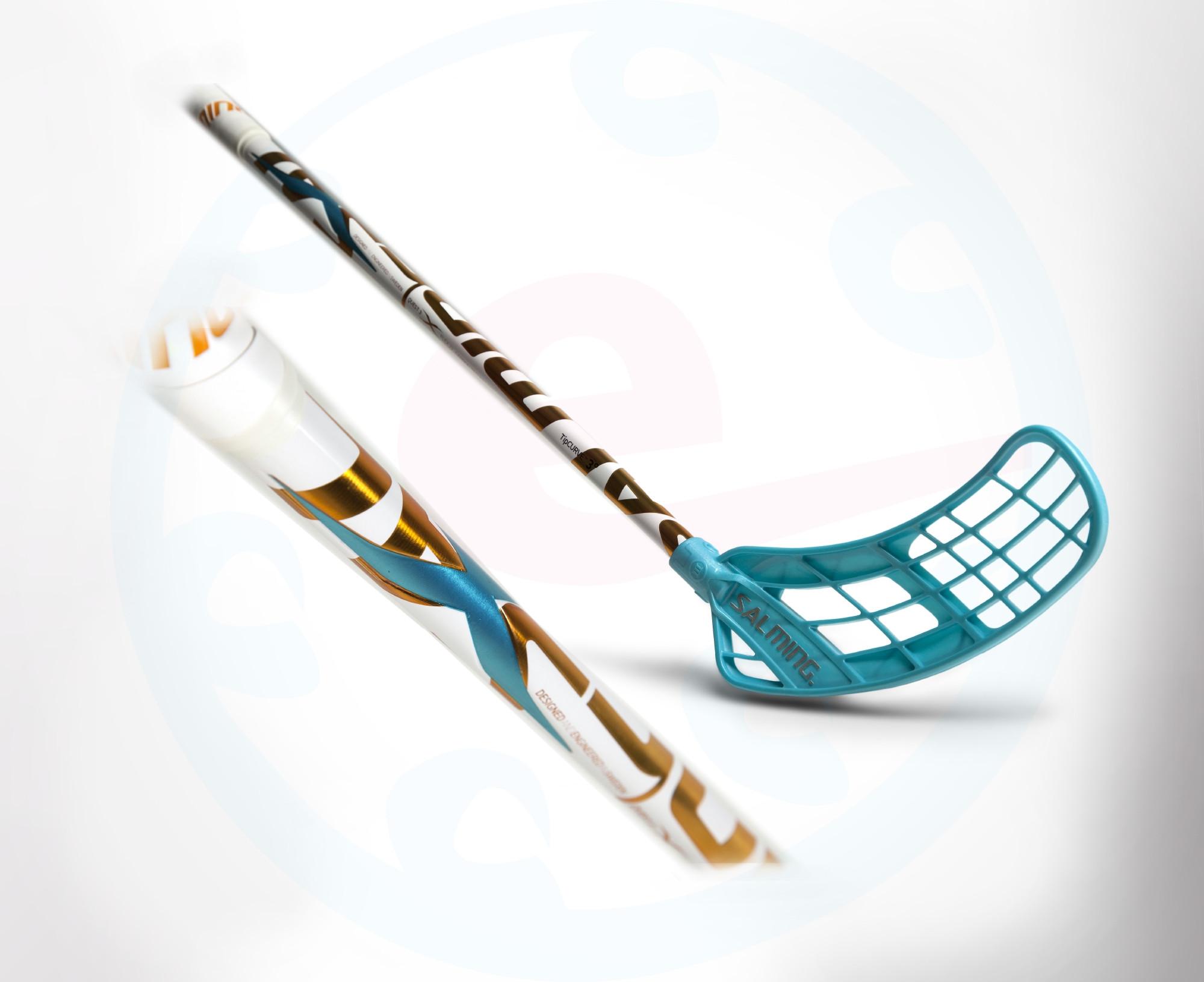 8f72c8093f6 Florbalová hokejka Salming Quest3 X-shaft KZ TC 3° JR `16