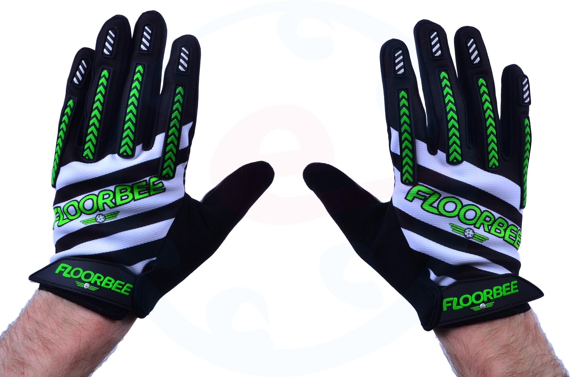 07cc7ed79d8 FLOORBEE Stronghold 2.0 Florbalové brankářské rukavice