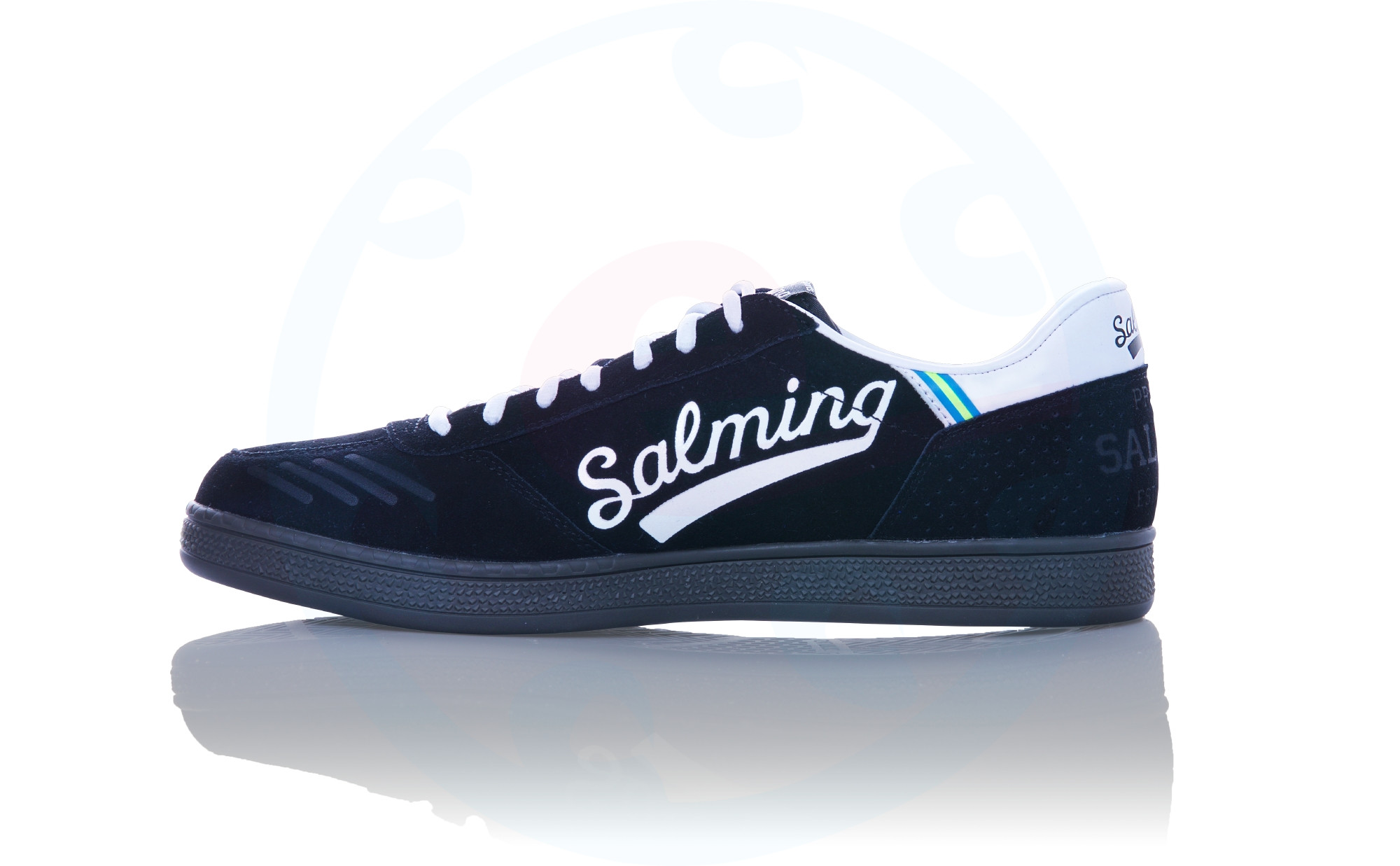 Indoor Shoes Salming Leather Blackwhite Ninetyone YvfIb7gy6