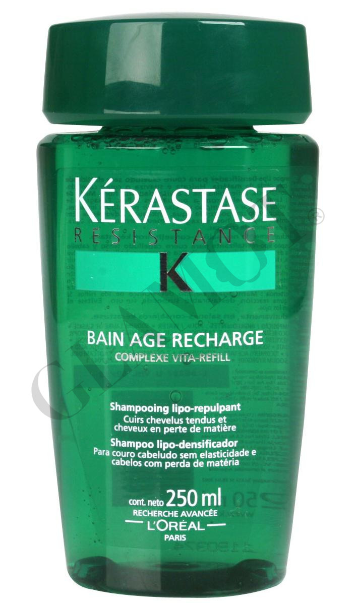 K rastase resistance bain age recharge lipo replenishing for Kerastase bain miroir conditioner