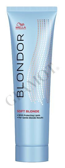 how to use wella blondor soft blonde cream