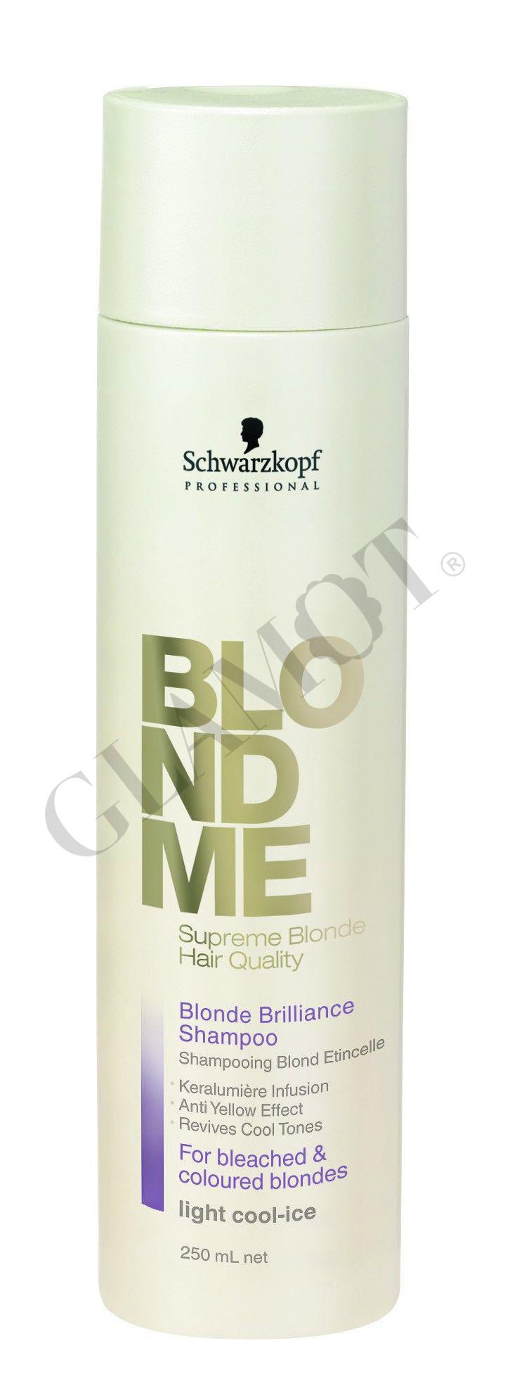 schwarzkopf blondme blonde brilliance shampoo light cool ice. Black Bedroom Furniture Sets. Home Design Ideas