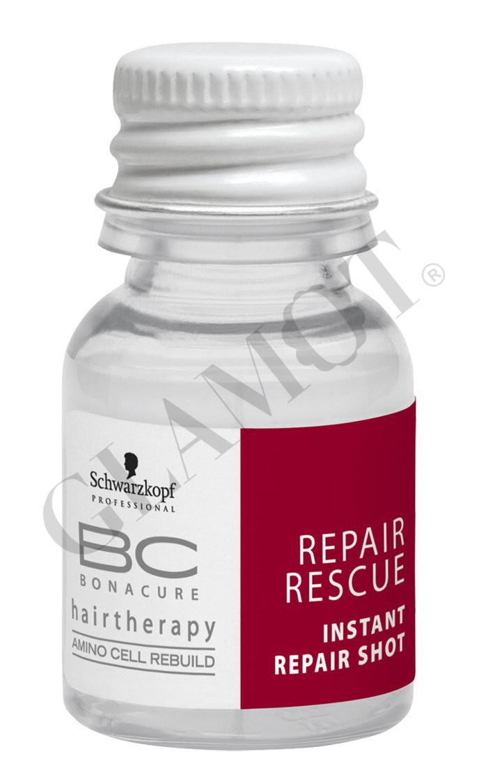 schwarzkopf bc bonacure repair rescue instant repair shot. Black Bedroom Furniture Sets. Home Design Ideas