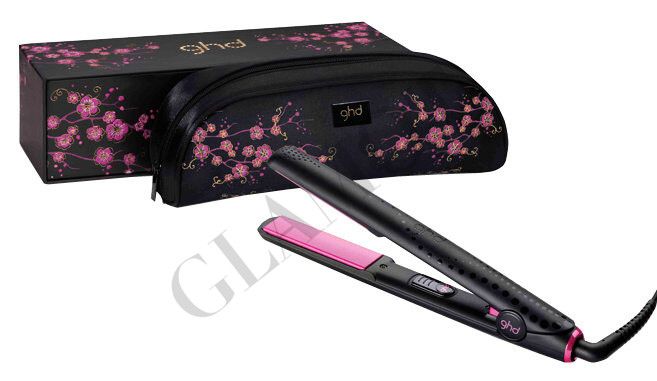 glatteisen ghd pink cherry blossom styler. Black Bedroom Furniture Sets. Home Design Ideas