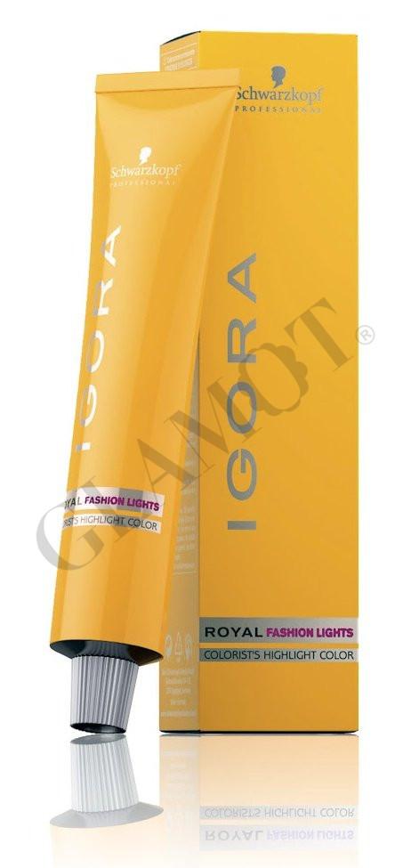 schwarzkopf igora royal fashion lights colorists highlight color - Coloration Igora Royal