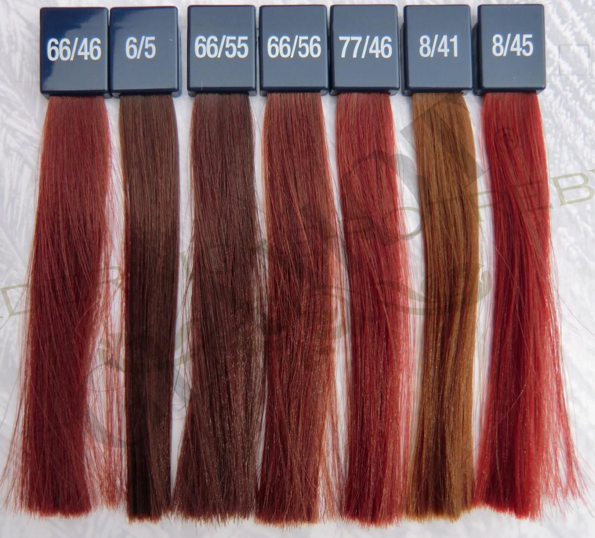 wella colour chart reds pictures: Shadesofredhaircolor 666 intense red pinterest hair co of 22