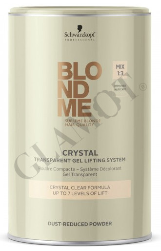 SCHWARZKOPF BLONDME Crystal Dust-Reduced Powder | glamot.com
