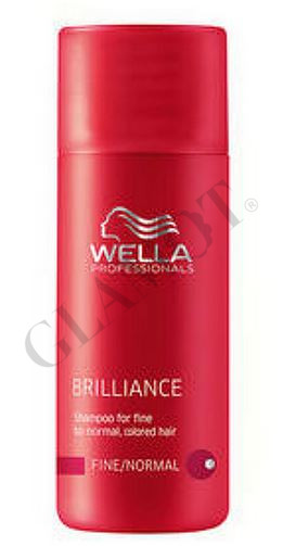 wella professionals brilliance shampoo for fine normal hair. Black Bedroom Furniture Sets. Home Design Ideas