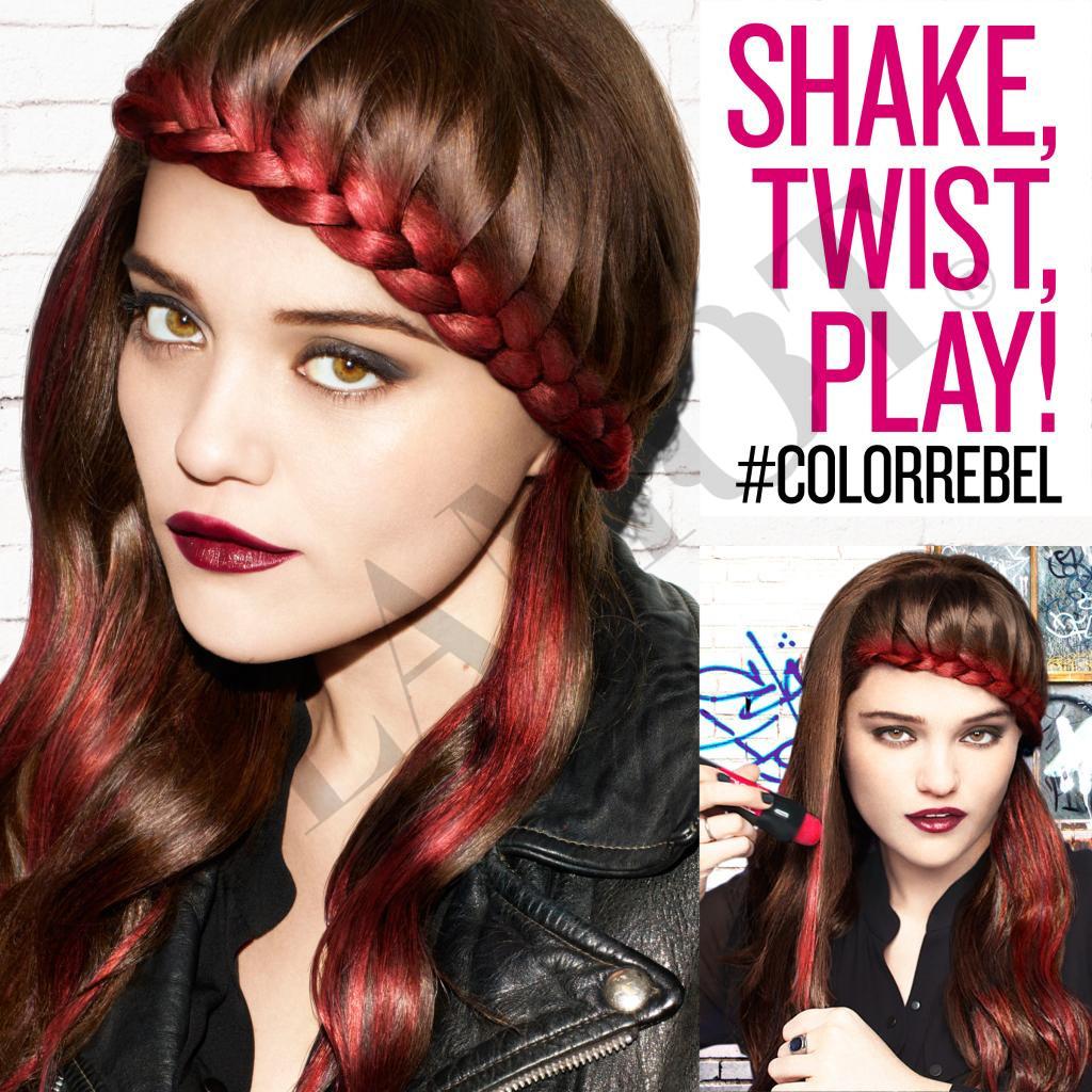 redken color rebel color rebel hair makeup - Redken Coloration