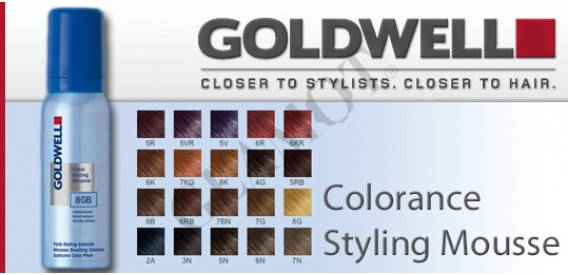Goldwell Colorance Color Styling Mousse Glamot Com
